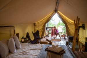 Glamping: How to give your camping trip a luxury twist