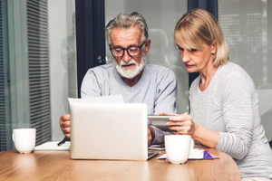 What to consider if you're worried about retiring with debt